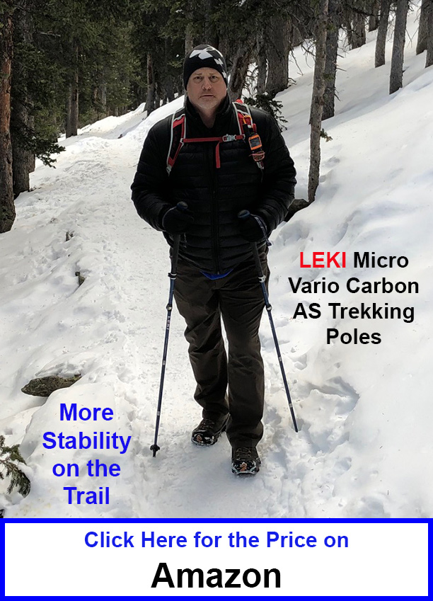 Leki Trekking Poles at Amazon