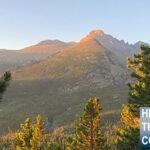 Sunrise over Longs Peak