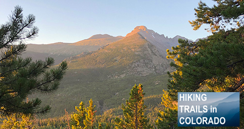 Sunrise over Longs Peak