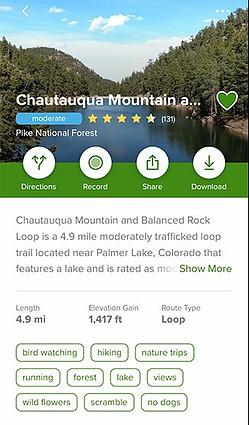 AllTrails Colorado | Chautauqua Mountain Loop