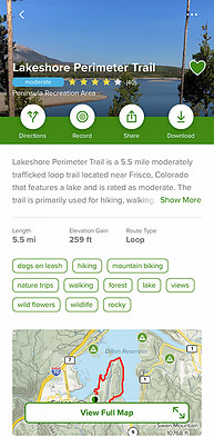 AllTrails | Lakeshore Perimeter Trail