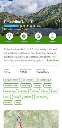 AllTrails | Timberline Lake Trail