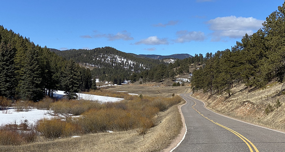 Drive from Reynolds Park Colorado
