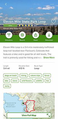 Eleven Mile State Park Loop