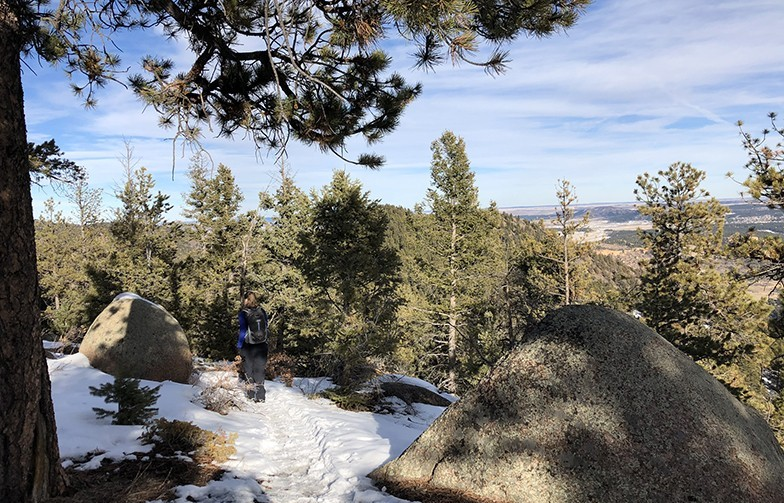 Hiking Trails in Colorado | Chautauqua Mountain Loop