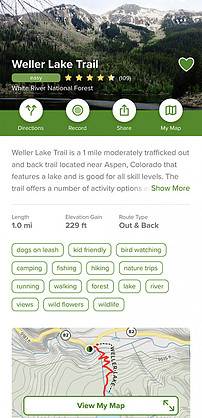 Hiking Trails in Colorado | Weller Lake Trail