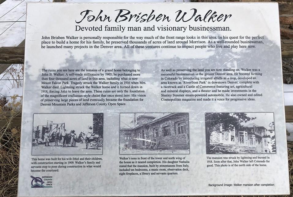 John Brisben Walker | Mount Falcon