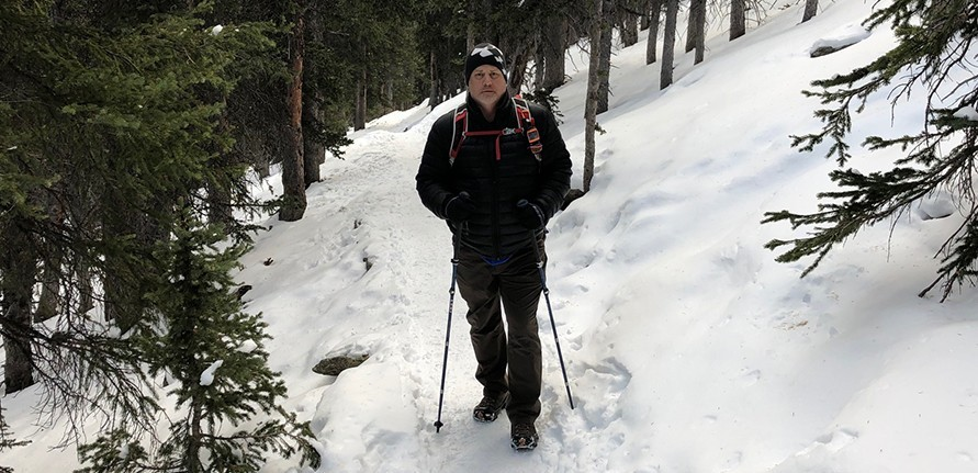 Leki Trekking Poles on the Trail
