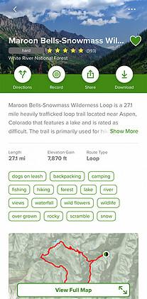 Maroon Bells Wilderness Loop