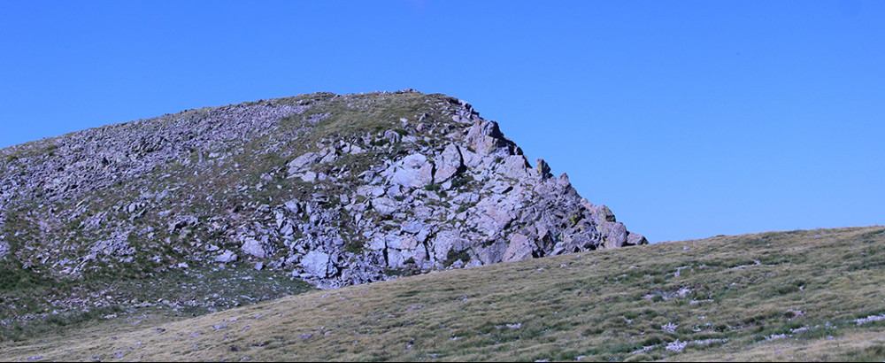 Near the top of Latir Peak