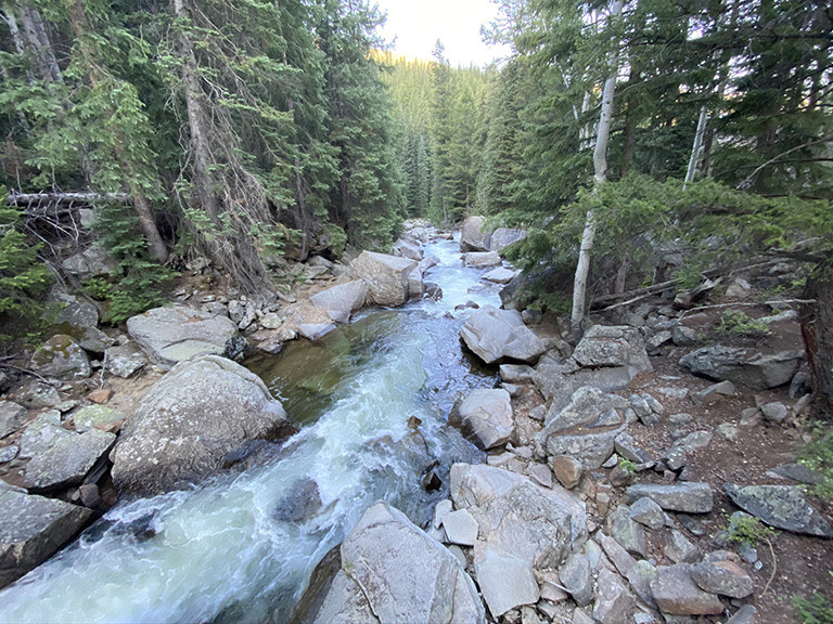 Roaring Fork River | Looking North