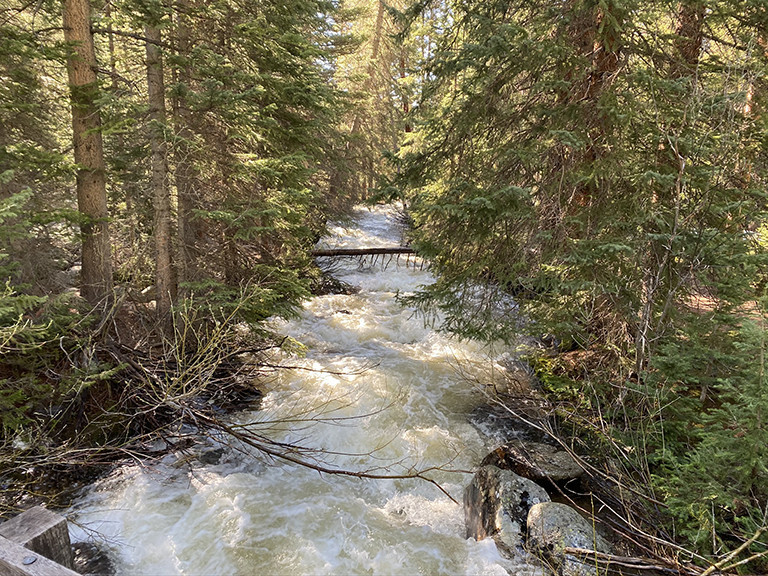 Snow Melt Runoff in the Rocky Mountains