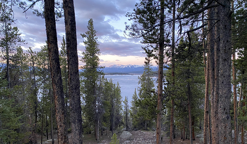 Turquoise Lake near Leadville Colorado