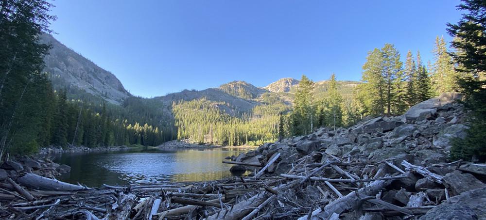 Weller Lake near Aspen Colorado
